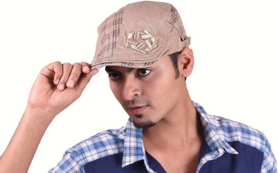 InnovationTheStore Solid, Checkered Ascot Cap