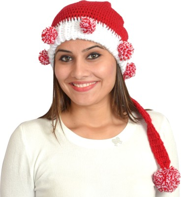 MOM's Touch Self Design Beanie-skull Cap