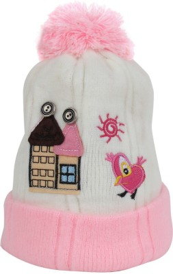 Littly Pom-Pom Winter Baby Cap