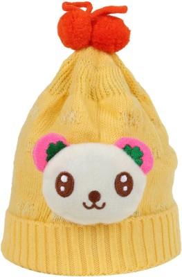 Littly Woven Winter Wear Panda Baby Cap