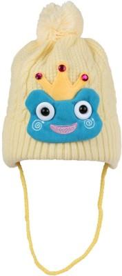 Littly Woven Winter Wear Cartoon Baby Cap