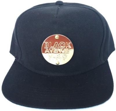 Kartrelic Black Avenue Music Embroidered Baseball Cap