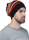 Shax Striped BEANIE CAP Cap