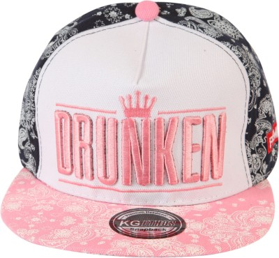 ILU Embroidered DRUNKEN, Crown, Logo, Snapback, Baseball, Hip-Hop Cap