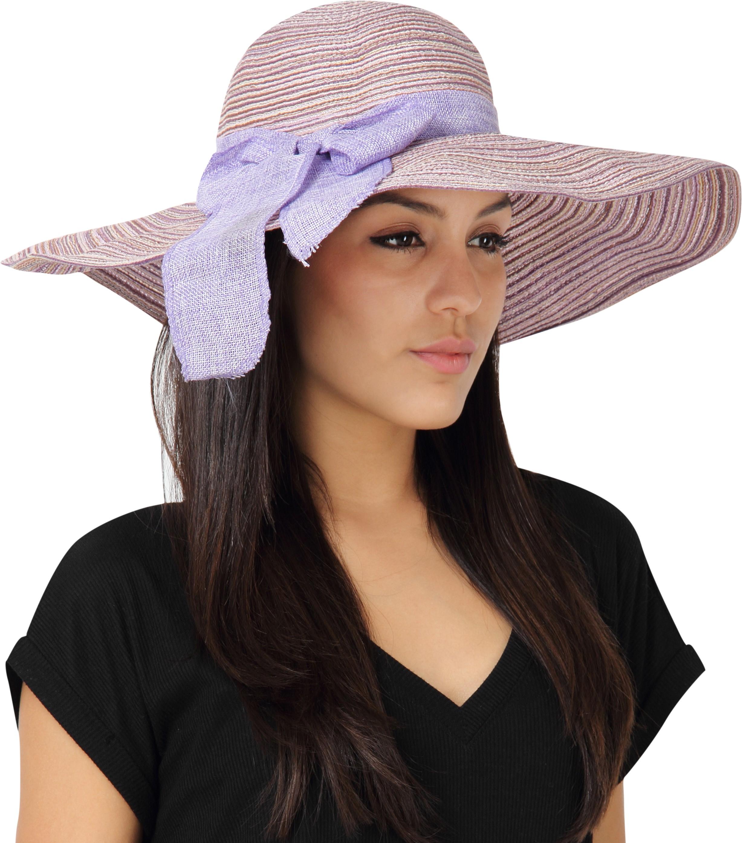 e9abf6e90b4 FabSeasons Long Brim Beach Hat Cap