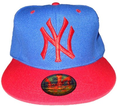 RR Accessories Blue And Red NY Cap