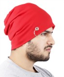 Noise Red Passion Solid Skull Cap
