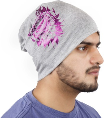 Noise Pirates of Coral Beanie Printed Skull Cap
