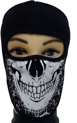 Babji MASTI FUN ANTI-POLLUTION FACE SKULL DESIGN MASK Cap