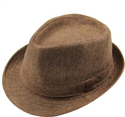 Modo Vivendi Solid Casual Fedora Hat Cap