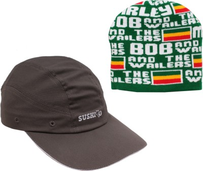 Sushito Set Of Two Cap