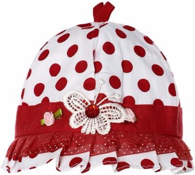 Littly Polka Print Designer Baby Cap