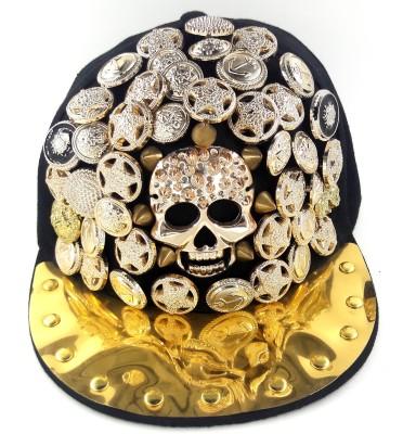99dailydeals Dance Skull Stone Hip Hop Cap
