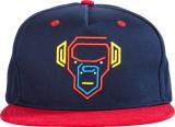 Urban Monkey Solid Blue Baseball Cap Cap