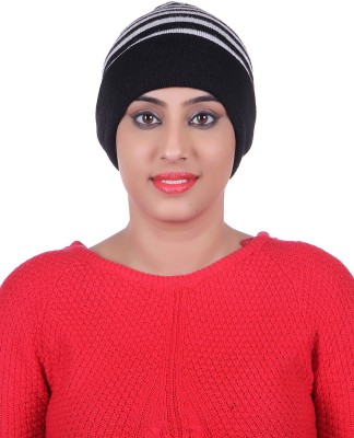 Tmi Striped Skull Cap