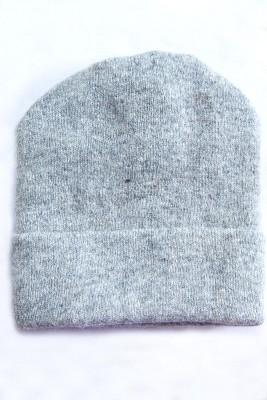 The Modern Knitting Shop Warm Wool Solid Skull Cap