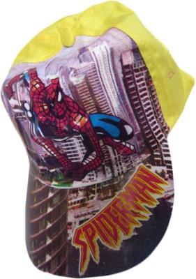 DCS Spiderman Printed Kids (Blue) Cap
