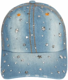 ILU Denim Stars caps blue cotton, Baseball, caps, Hip Hop Caps, men, women, girls, boys, Snapback, Trucker, Hats cotton caps Cap Cap