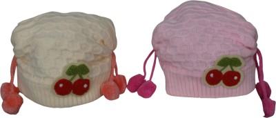 Sabhya Sakshi Woven Knitted Woolen Skull Cap