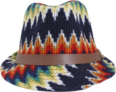 InnovationTheStore Graphic Print Fedora Hat Cap