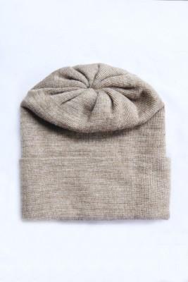 The Modern Knitting Shop Double Kashmiri Wool Solid Skull Cap