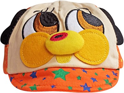 Littly Applique Designer Cartoon Baby Cap