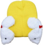 Pikaboo Kids Cap (Yellow)