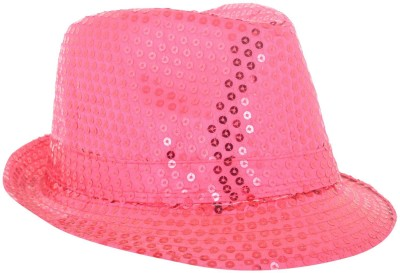 Masti Station Solid Fedora Party Hat Cap