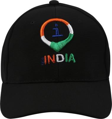 Imagica Self Design Imagica Flexifit Cap I For India Logo Cap