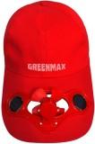 Greenmax Self Design Solar Fan Cap Cap