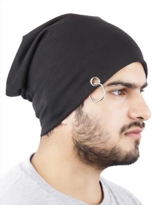 Noise Midnight Black Solid Skull Cap