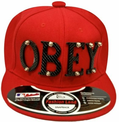 TakeIncart TIC-516 Obey Solid Snapback Cap