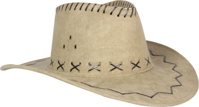FabSeasons Solid Cowboy Hat Cap