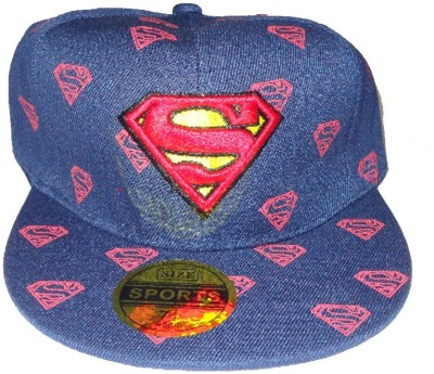 RR Accessories Blue Superman Cap