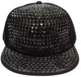 Babji Black Snapback Hiphop Cap