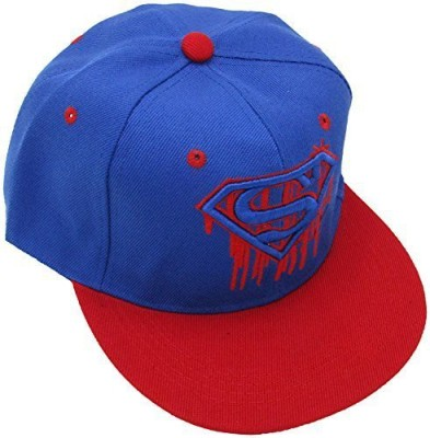 Masti Station Embroidered Hip-Hop Snapback Superman Premium Cap