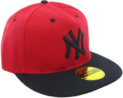 Masti Station Embroidered Hip-Hop Snapback NY Cap