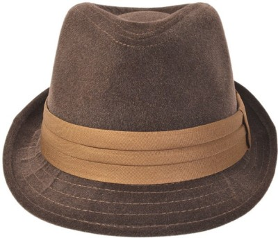 Alvaro Self Design Fidora Hat Cap