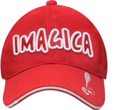 Imagica Self Design Flexifit Cap Text Logo Cap
