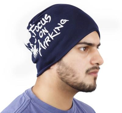 Noise Focus on Airking Blue Beanie Printed Skull Cap