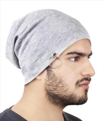 Noise Classic Grey Solid Skull Cap