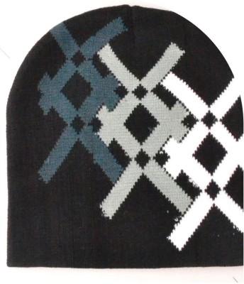Lord&Lady Geometric Print Skull Cap