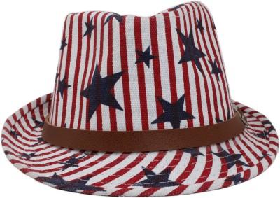 InnovationTheStore Striped Fedora Hat Cap