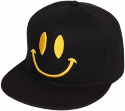 ILU Smiley caps black cotton, Baseball, caps, Hip Hop Caps, men, women, girls, boys, Snapback, Trucker, Hats cotton caps Cap Cap