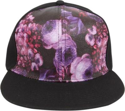 ILU Floral Print Floral, Snapback, baseball, Hip Hop, Trucker, Hat, Caps Cap