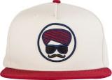 Urban Monkey Solid White Baseball Cap Ca...