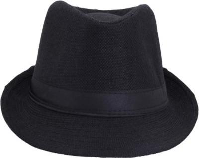 Caris Solid Fidora Cap