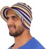 Sushito Striped Summer Skull Cap