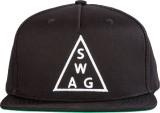Urban Monkey Solid Black Baseball Cap Ca...