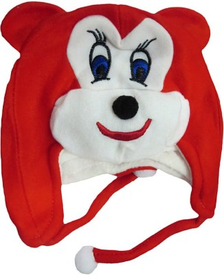 DCS Red Mickey Mouse Woolen Cap